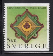 Sweden 1995 Used Scott #2149 5k Tycho Brache, Astronomer Uranienborg Observatory - Suède