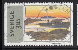 Sweden 1996 Used Scott #2177 3.85k Painting By Roland Svensson - Suède