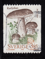 Sweden 1996 Used Scott #2186 3.85k Boletus Edulis Mushrooms Coil - Suède