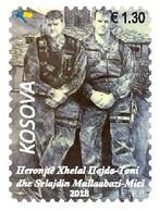 Kosovo Stamp 2018. Army Heroes - Toni & Mici. Set MNH - Kosovo