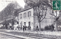 10 - Aube -  MATHAUX - La Gare - France