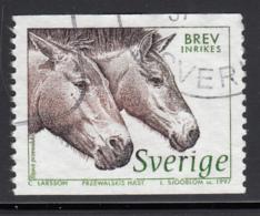 Sweden 1997 Used Scott #2220 (5k) Equus Przewalskii - Suède