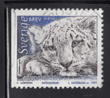 Sweden 1997 Used Scott #2221 (5k) Panthera Unica, Adult - Suède