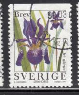 Sweden 1997 Used Scott #2227 (5k) Iris Sibirica Garden Flowers - Suède