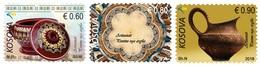 Kosovo Stamp 2018. Artisan – Clay Works. Set MNH - Kosovo