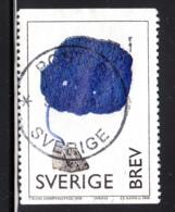 Sweden 1998 Used Scott #2263 (5k) Fungus Sculpture By Yves Klein - Suède