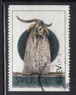 Sweden 1998 Used Scott #2265 (5k) Monogram By Robert Rauschenberg - Suède