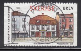 Sweden 1998 Used Scott #2270 (5k) Shoe Shop, Askersund - Suède
