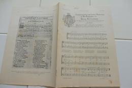 """PARTITION ANCIENNE SUPPLEMENT DE L'ILLUSTRATION 1902-""""LE SACRE"""" """"PARYSATIS"""" 'QUE MA PRIERE"""" COURONNEMENT EDOUARD VII ET - Partitions Musicales Anciennes"""