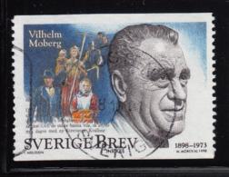 Sweden 1998 Used Scott #2293 (5k) Vilhelm Moberg, Writer - Suède