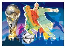 Kosovo Stamp 2018. FIFA World Football Cup - Russia 2018. Block MNH - Kosovo