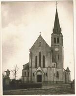 Photo De L'Eglise De Chenois Sur Menu 1946 - Abbé Pierre Oudewater - 4 Scans - Waterloo
