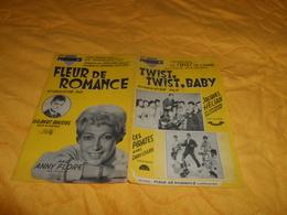 PARTITION ANCIENNE DE 1961. / TWIST TWIST BABY, FLEUR DE ROMANCE.. - Partitions Musicales Anciennes