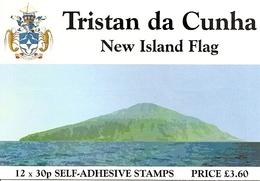 TRISTAN DA CUNHA, 2004, Booklet 5,  New Island Flag - Tristan Da Cunha