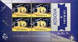 Kosovo Stamps 2018. 10-th Anniversary Of Independence. Sheet MNH - Kosovo