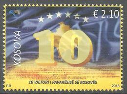 Kosovo Stamps 2018. 10-th Anniversary Of Independence. Set MNH - Kosovo