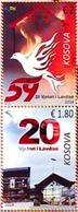 Kosovo Stamps 2018. 20th Anniv Glory Of Liberation. Bird, Pigeon, Dove. Set MNH - Kosovo