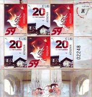 Kosovo Stamps 2018. 20th Anniv Glory Of Liberation. Bird, Pigeon, Dove. Sheet MNH - Kosovo