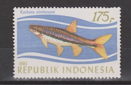 Indonesie Indonesia Nr 1173 MNH ; Vissen, Fish, Poissons, Pescado 1983 ; NOW MANY STAMPS OF ANIMALS - Vissen