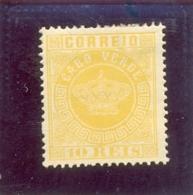 1877 CAP VERT Y & T N° 2 ( * ) - Cape Verde