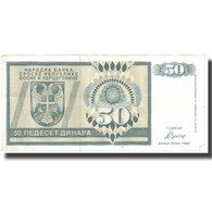 Billet, Bosnia - Herzegovina, 50 Dinara, 1992, 1992, KM:134a, TTB - Bosnie-Herzegovine