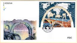 Kosovo Stamps 2018. Europa CEPT: Bridges. FDC Souvenir Sheet MNH - Kosovo