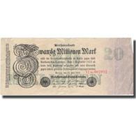 Billet, Allemagne, 20 Millionen Mark, 1923, 1923-07-25, KM:97b, TB+ - [ 3] 1918-1933 : République De Weimar
