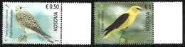 Kosovo Stamps 2018. Fauna: Birds. Falco, Upupa, Sturnus. Set, Strip. MNH - Kosovo