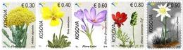 Kosovo Stamps 2018. Flora, Flowers. Set MNH - Kosovo
