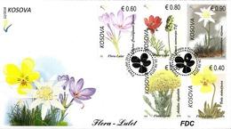 Kosovo Stamps 2018. Flora, Flowers. FDC Set MNH - Kosovo
