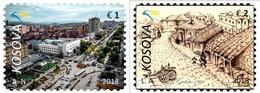 Kosovo Stamps 2018. Gjilani - Cities Of Kosova. Set MNH - Kosovo