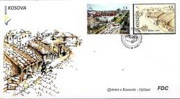 Kosovo Stamps 2018. Gjilani - Cities Of Kosova. FDC Set MNH - Kosovo