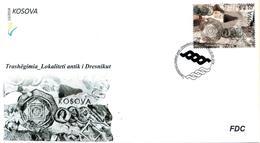 "Kosovo Stamps 2018. Heritage - Ancient Locality ""Dresnik"". FDC Set MNH - Kosovo"