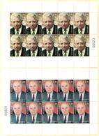 Kosovo Stamps 2018. Personalities Ejup Statovci & Fehmi Agani. Mini Sheet MNH - Kosovo