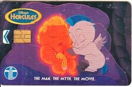 MALAYSIA(chip) - Disney/Hercules, Telecom Malaysia Telecard RM5, Used - Malaysia