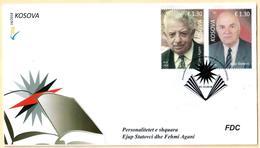Kosovo Stamps 2018. Personalities Ejup Statovci & Fehmi Agani. FDC Set MNH - Kosovo