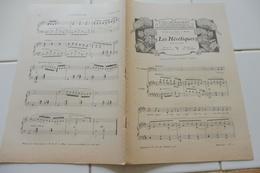 """PARTITION ANCIENNE SUPPLEMENT DE L'ILLUSTRATION 1905-""""LES HERETIQUES"""" OPERA PIANO-""""AIR DE BALLET"""" LEGENDE DU MENETRIER - Partitions Musicales Anciennes"""
