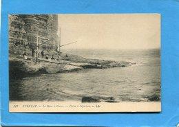 ETRETAT-Pêcheurs à L'éperlan Au Pied De La Falaise- édition LL-années 1910-20 - Etretat