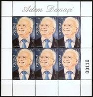 Kosovo Stamps 2018. Personality: Adem Demaci. Sheet MNH - Kosovo
