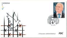 Kosovo Stamps 2018. Personality: Adem Demaci. FDC Set MNH - Kosovo