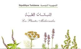 TUNISIA, 2005 Carnet 24, Medicinal Plants/flowers - Tunisia