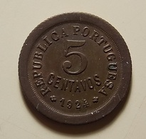 Portugal 5 Centavos 1924 - Portugal