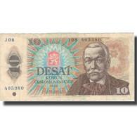 Billet, Tchécoslovaquie, 10 Korun, 1986, 1986, KM:94, TTB - Tchécoslovaquie