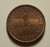 Portugal 1 Centavo 1918 - Portugal