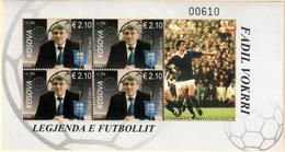 Kosovo Stamps 2018. The Football Legend - Fadil Vokrri. Souvenir Sheet MNH - Kosovo