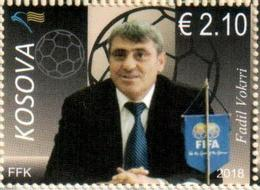 Kosovo Stamps 2018. The Football Legend - Fadil Vokrri. Set MNH - Kosovo
