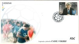 Kosovo Stamps 2018. The Football Legend - Fadil Vokrri. FDC Set MNH - Kosovo