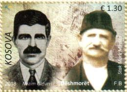 Kosovo Stamps 2018. The Martyrs: Stak Mirdita & Nazim Gafurri. Set MNH - Kosovo