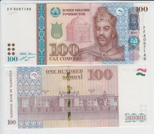 TAJIKISTAN 100 Somoni P 27 B 2017 UNC - Tadjikistan