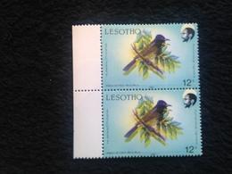 Lesotho  1987 12s Birds Defin  Unmounted Mint - Lesotho (1966-...)